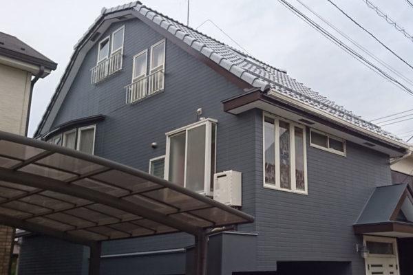 大阪府堺市 外壁塗装 コーキング打ち直し ナノコンポジットW