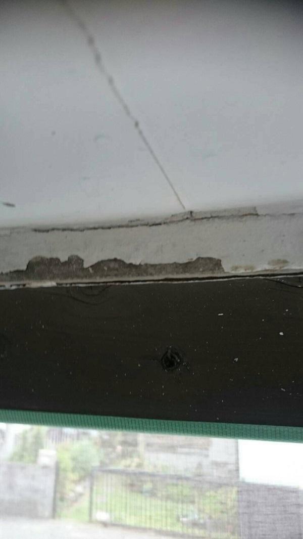 大阪府堺市 外壁塗装 事前調査 汚れ ひび割れ 剥がれ チョーキング現象