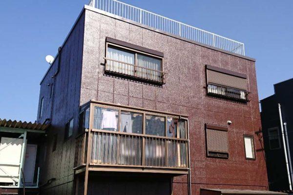 大阪府堺市 外壁塗装 コーキング工事 パーフェクトトップ