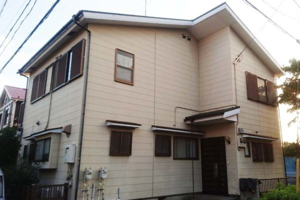 大阪府堺市 外壁塗装 コーキング打替え クリーンマイルドシリコン
