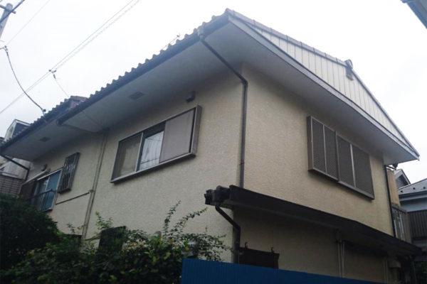 大阪府堺市 外壁塗装 付帯部塗装 ファイン4Fセラミック