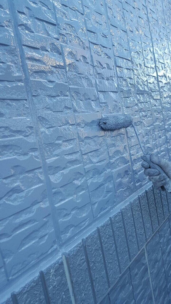 大阪府堺市 外壁塗装 マンション ラジカル制御型塗料 関西ペイント アレスダイナミックトップ