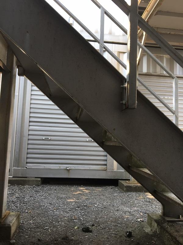 大阪府堺市 外壁塗装 付帯部塗装 鉄骨階段 無料診断