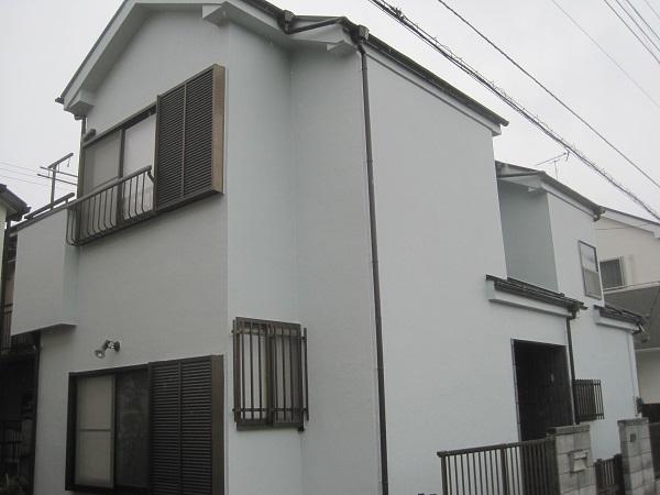 大阪府堺市 外壁塗装 事前調査 外壁塗装・屋根塗装を自分でDIYできるか