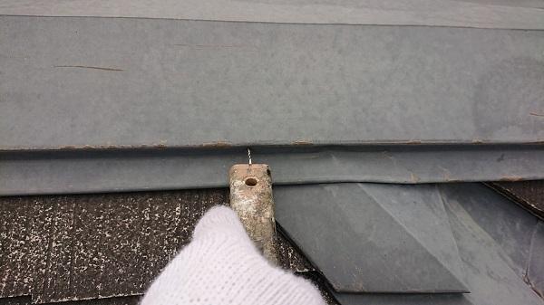 大阪府堺市 屋根板金工事 屋根・外壁0円診断 板金の浮き