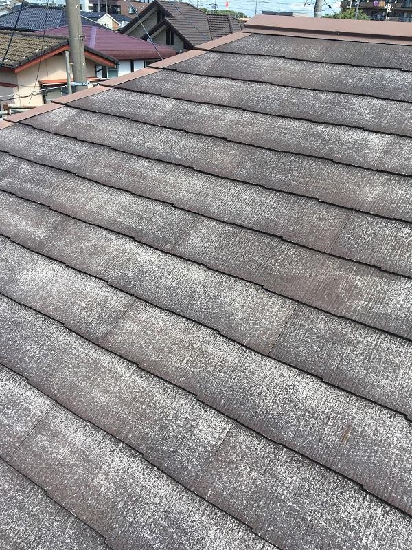 大阪府堺市 屋根塗装 雨漏り 散水試験 梅雨入り前の工事