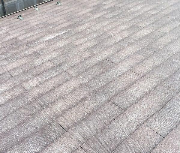 大阪府堺市 屋根塗装 足場設置 下地処理 高圧洗浄