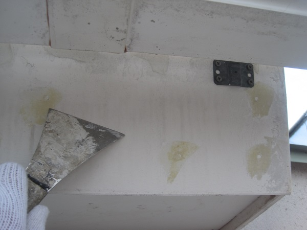 神奈川県川崎市 外壁塗装 下地処理 ケレン作業