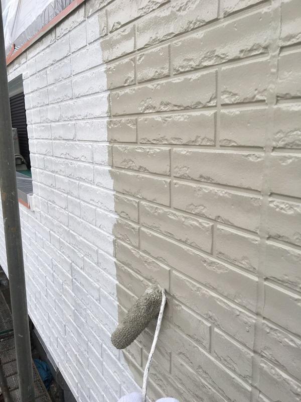 大阪府堺市 外壁塗装 無料診断 劣化症状 チョーキング現象 (1)