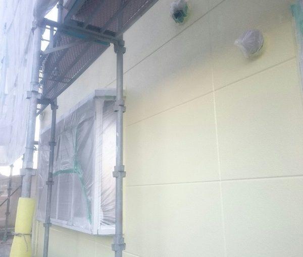 大阪府堺市 外壁塗装 屋根塗装 コーキング打ち替え工事 エスケー化研 プレミアムシリコン ラジカル制御式