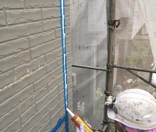 大阪府堺市 外壁塗装 高圧洗浄 コーキング打ち替え工事 オートンイクシード