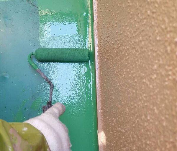 大阪府堺市 外壁塗装 防水工事 ウレタン防水
