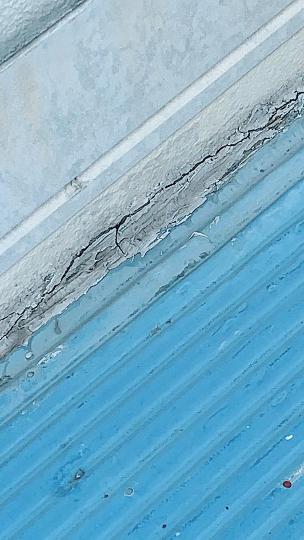 大阪府堺市 屋根塗装 折板屋根 シーリング(コーキング)工事 オートンイクシード