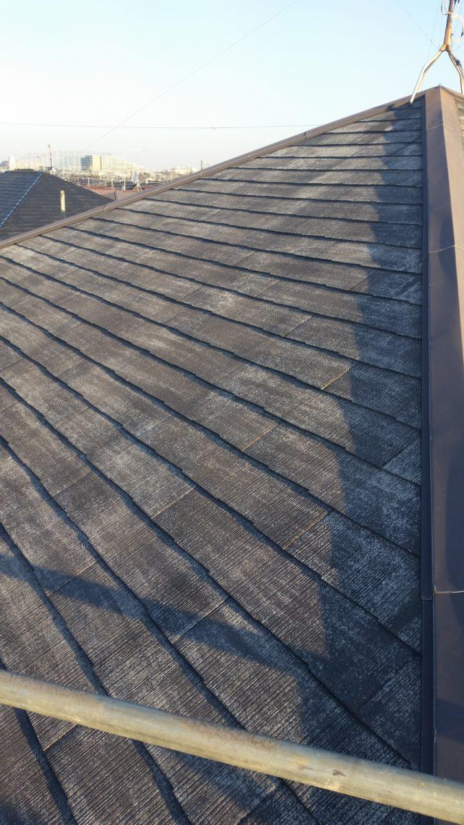 屋根高圧洗浄後の画像