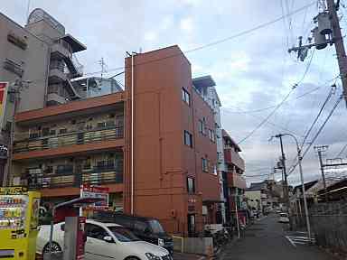 大阪府堺市 Eハイツ 外壁塗装