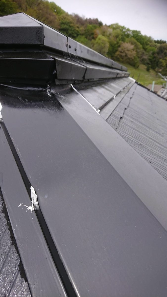 屋根補修施工の画像