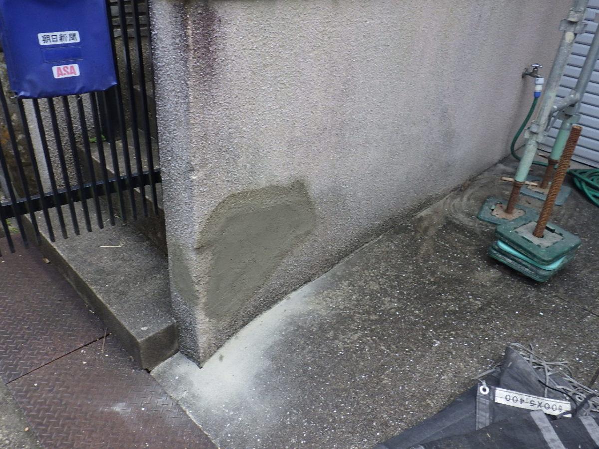塀補修後の画像