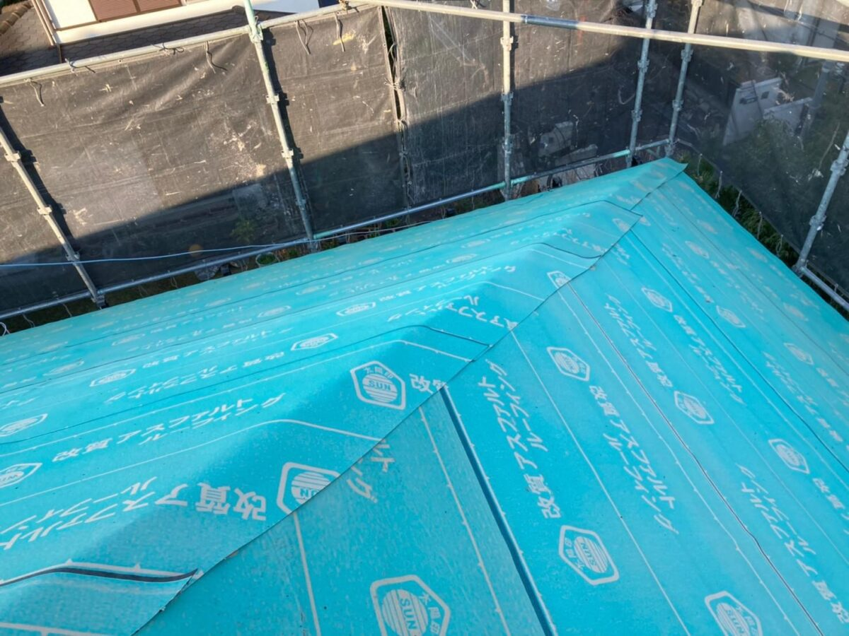 屋根葺き替えの画像