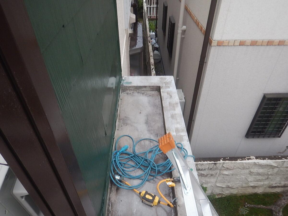 シート防水工事の画像