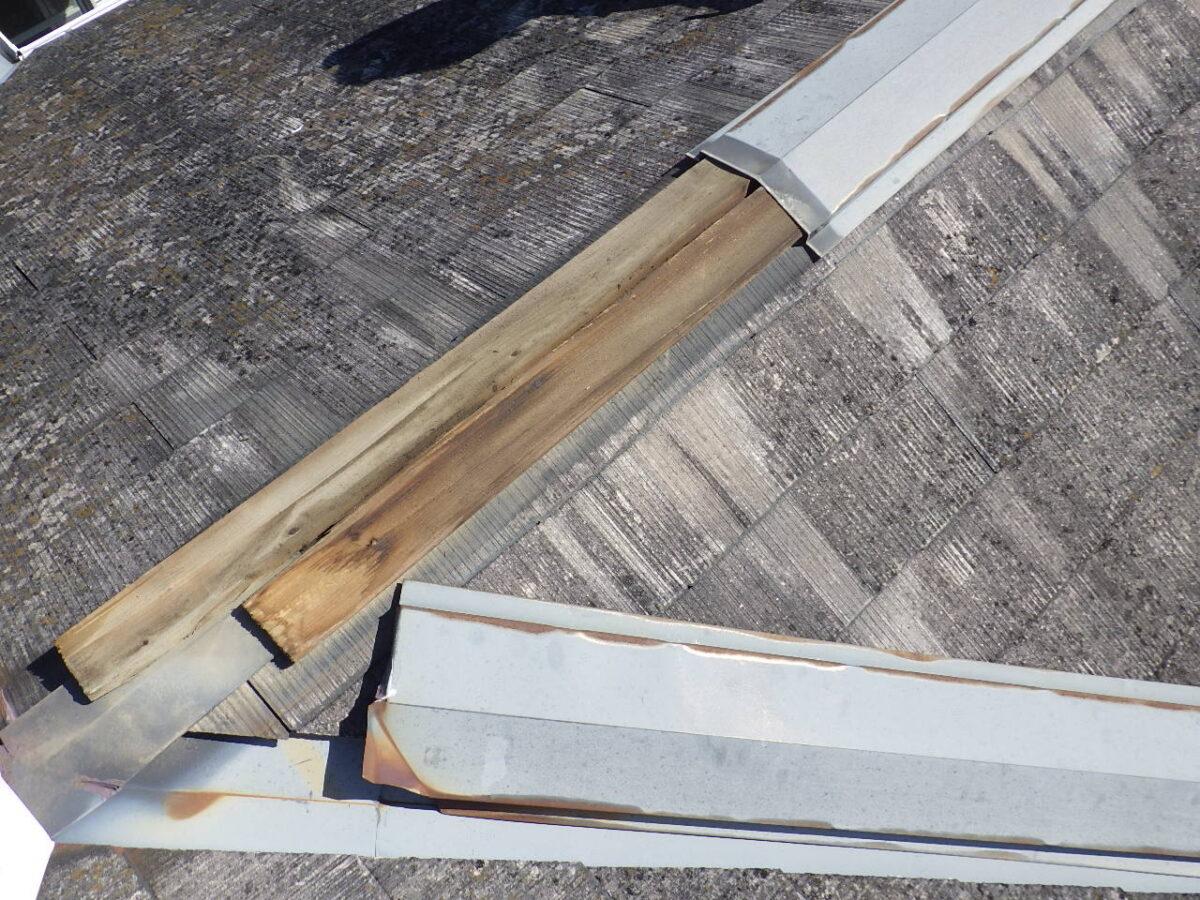 屋根板金補修の画像
