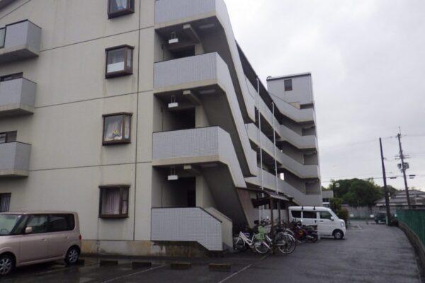Fマンション 外壁・屋根・共用部・駐輪場の塗装 施工事例