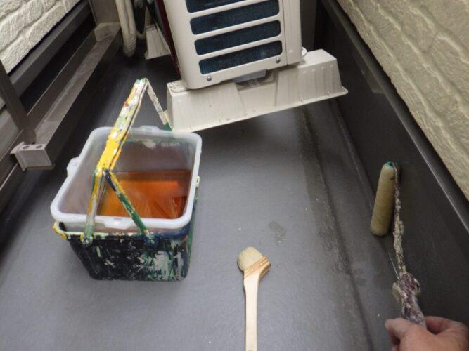 FRP防水プライマー塗布の画像