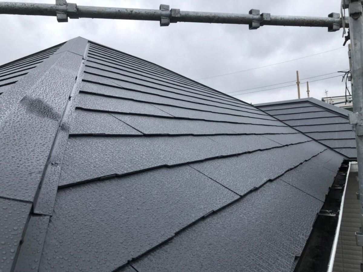 屋根塗装施工後の画像