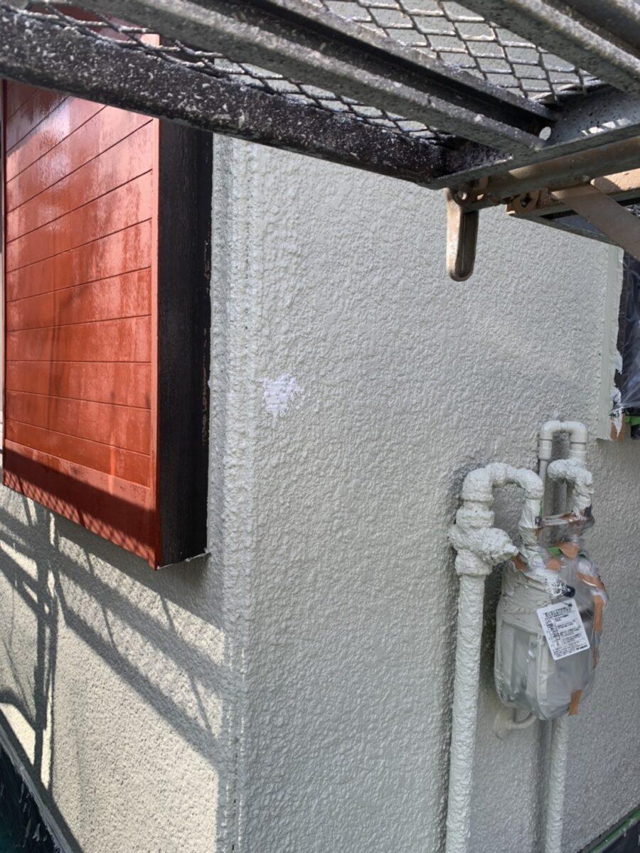 外壁ビス穴補修の画像