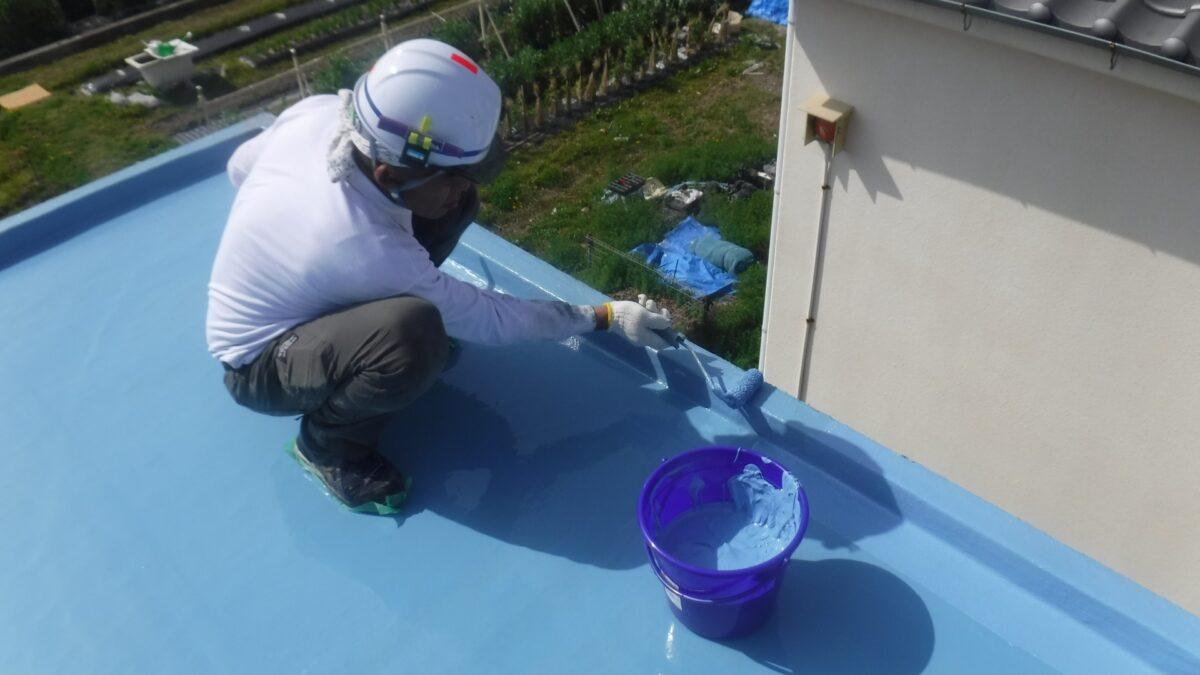 ウレタン防水塗装の画像