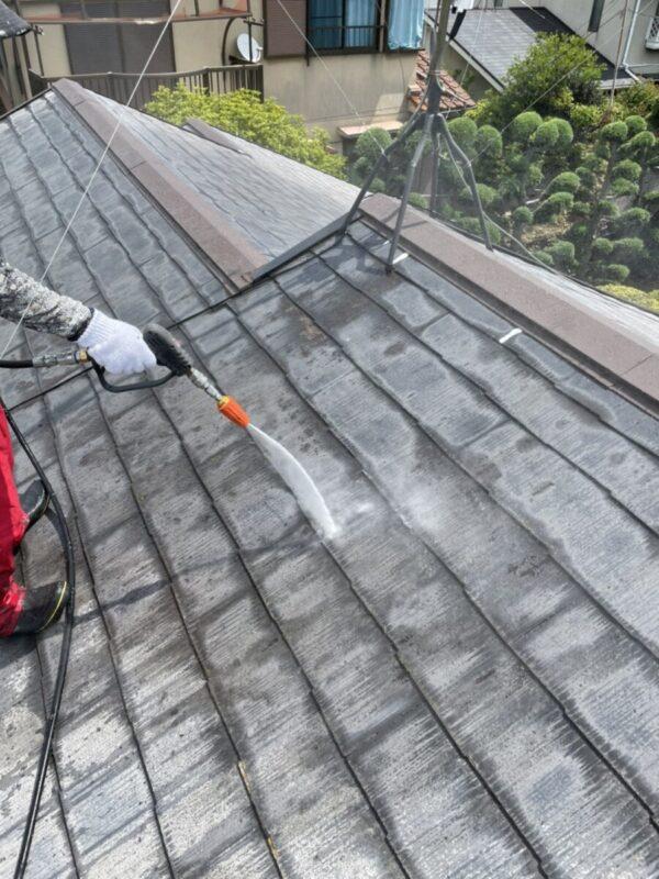 屋根高圧洗浄