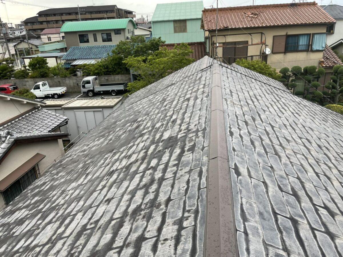 堺市 屋根塗装工事 高圧洗浄 O様邸
