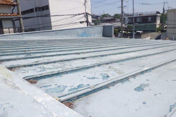 堺市北区 屋根・外壁塗装工事 自治会館