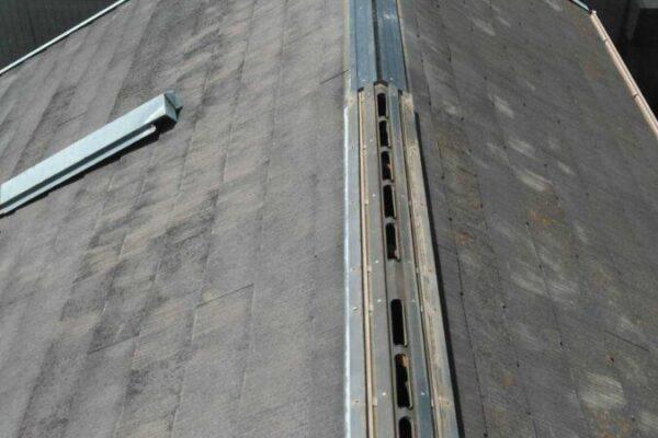 堺市北区 外壁・屋根塗装工事 棟板金補修工事 H様邸