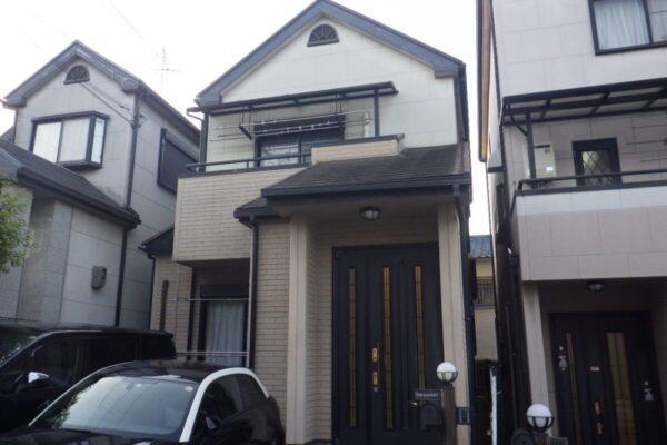 堺市西区 外壁・屋根塗装工事 ベランダ防水 板金補修  T様邸
