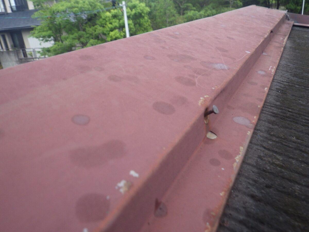 屋根施工前の状態の画像